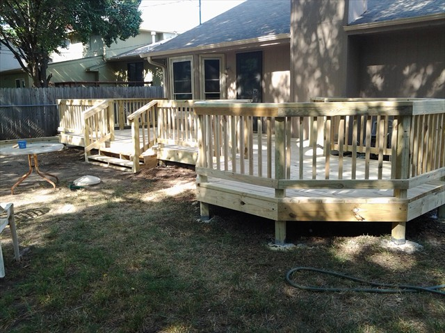 Hexagon Deck Project Picture #4