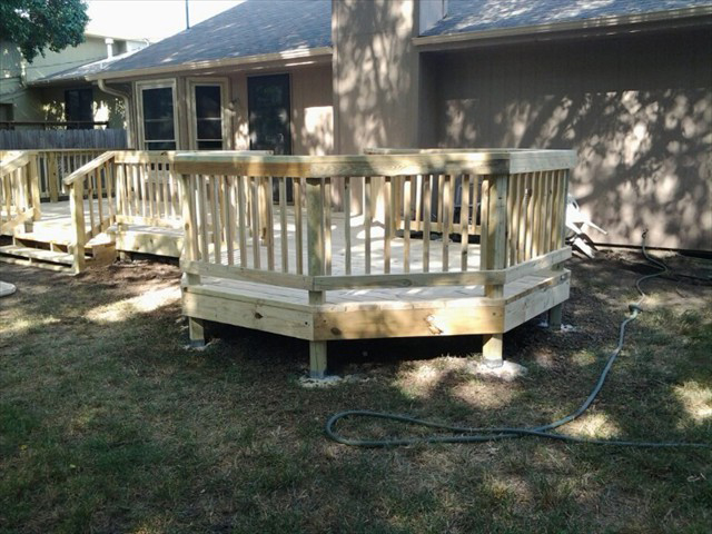 Hexagon Deck Project Picture #1